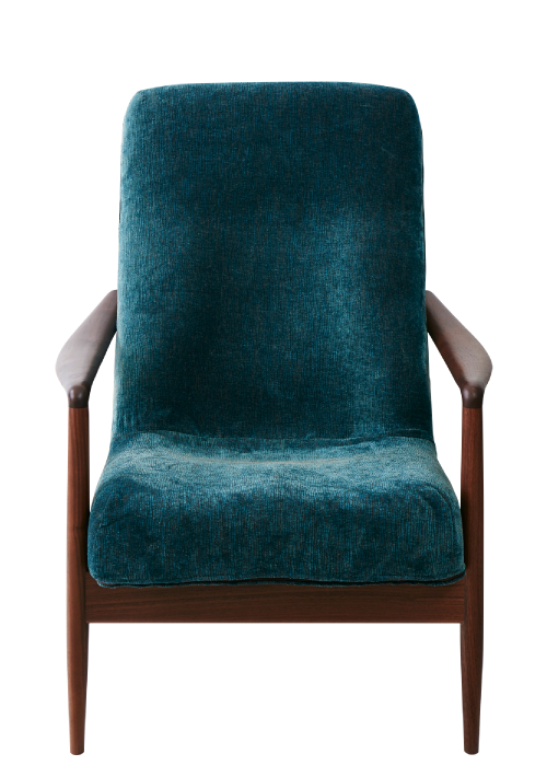VIOLA - PERSONAL CHAIR and OTTOMAN